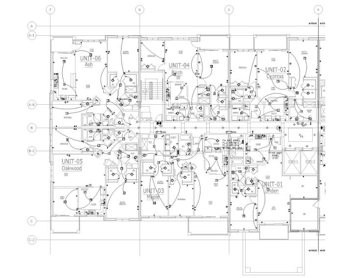 Architectural Layout - Sample