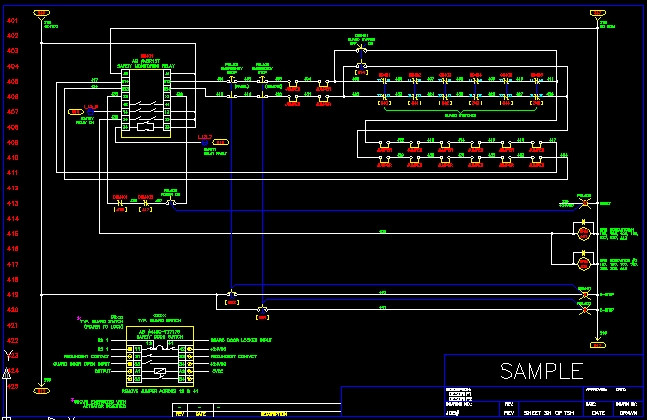 Electrical Schematic electrical schematic sample wiring diagram cad at mifinder.co